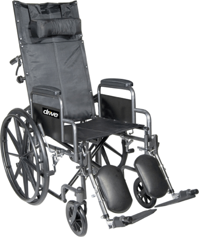 Silver Sport Full-Reclining Wheelchair